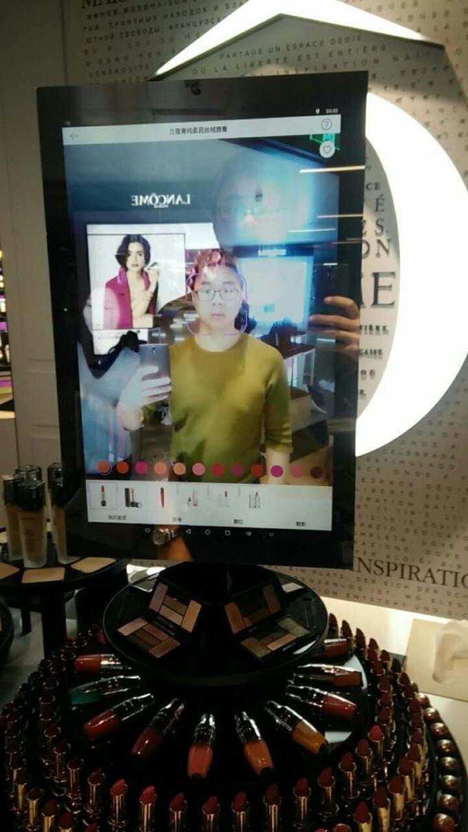 10 Point Capacitive Touch Screen Smart Mirror With IR Motion Sensor
