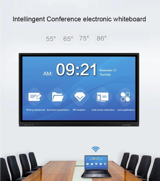 LCD Interactive Touch Screen UHD Interactive Touch Screen Whiteboard For School