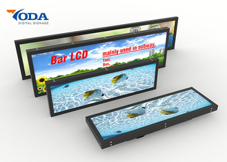 Good Quality LCD Digital Display & Retail Shop Use Stretched Bar LCD Display 24Inch USB Version on sale