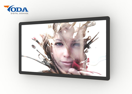Good Quality LCD Digital Display & LCD Digital Advertising Display , Wall Mounted Interactive Touchscreen Display on sale