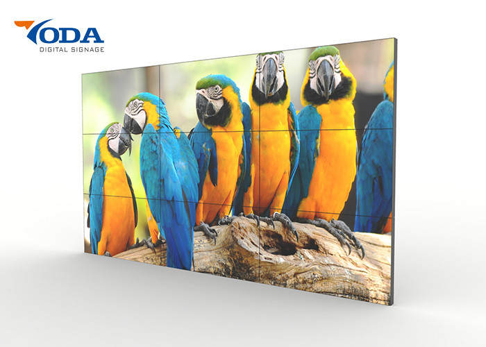 Seamless LCD Video Wall Display 3x3 Controller Advertising Video Wall