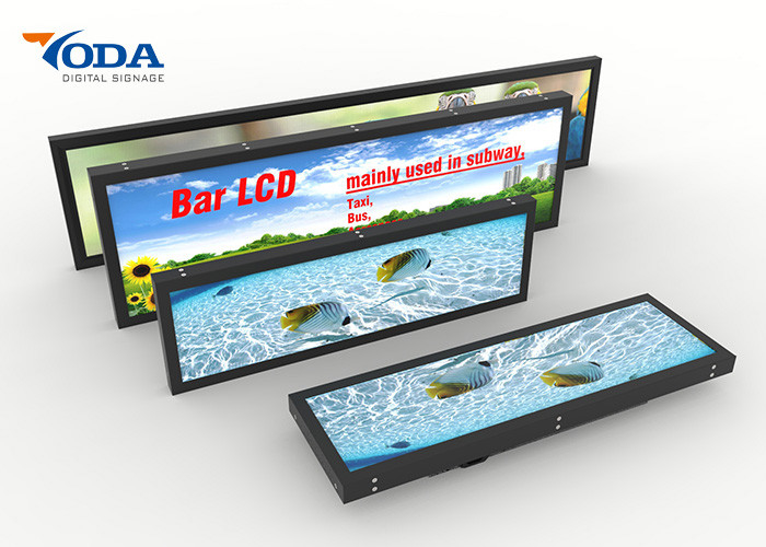 Retail Shop Use Stretched Bar LCD Display 24Inch USB Version