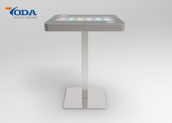 21.5Inch LCD Touch Screen Table Small Interactive Multil Touch Screen Coffee Restaurant Table