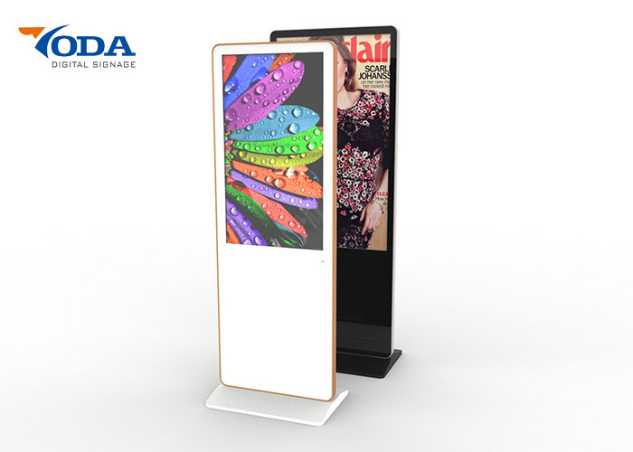 32 Inch LCD Touch Screen Advertising Displays Humanized Inner Structure
