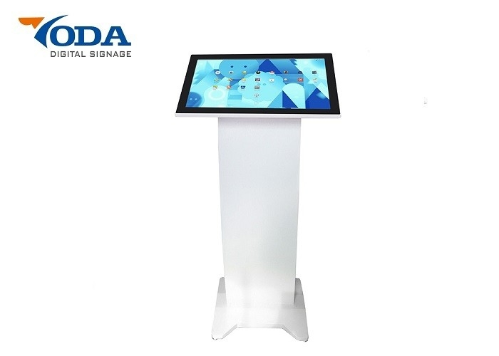 21.5 Inch Interactive Smart LCD Touch Screen Kiosk Display For Restaurant
