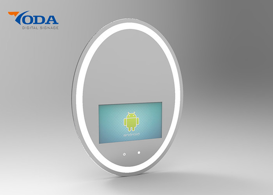 China Creative Touch Screen Smart Mirror Capacitive Touch Sensing 16 . 7M Color Depth factory