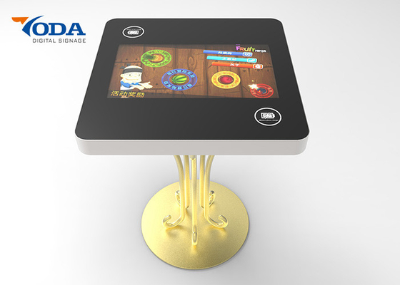 Restaurant 21.5 Inch Interactive LCD Touch Screen Table For Kids Games/Order