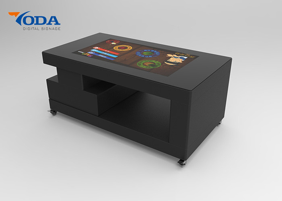China 43 Inch LCD Touch Screen Table Unique Amusements LCD Touch Table For Reception Room factory