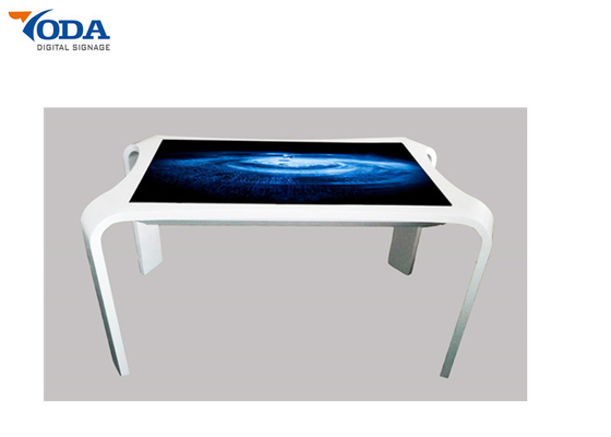 China 2K Multi-Touch Interactive LCD Touch Screen Table Digital Signature Smart Touch Table factory
