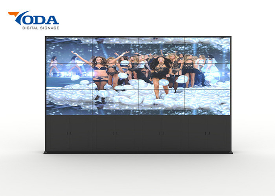 China 55 Inch Seamless Lcd Video Wall , Touch Screen Video Wall 0.99MM Ultra Narrow Bezel factory