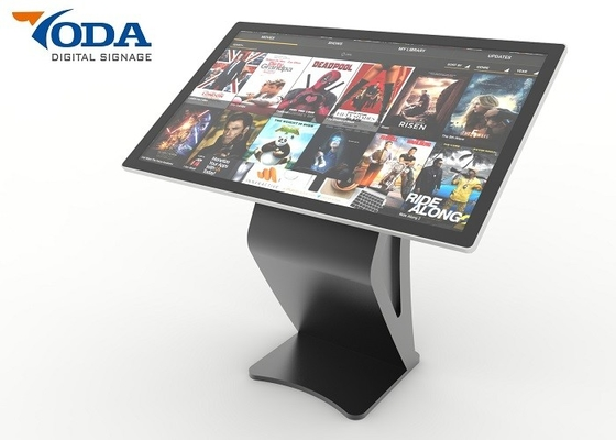 China 43 Inch FHD LCD Touch Screen Kiosk Monitor Information Touch Screen Self Service kiosk factory