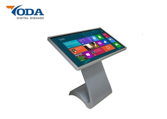 Information LCD Touch Screen Kiosk 55 Inch Interactive Touch Screen Digital Signage