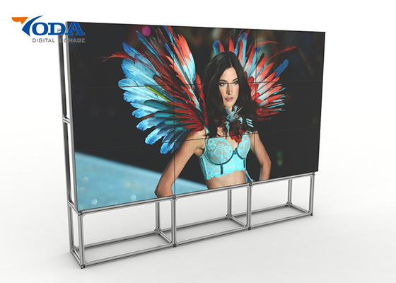 Indoor Narrow Bezel LCD Video Wall Ultra Thin UHD 4K High Resolution