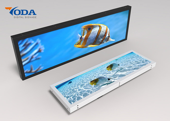 Ultra Narrow Border Lcd Digital Signage Display , TFT Stretch Monitor Display