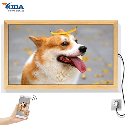 China Intelligent Smart Digital Picture Frame , HD Video Digital Photo Frame 35W factory