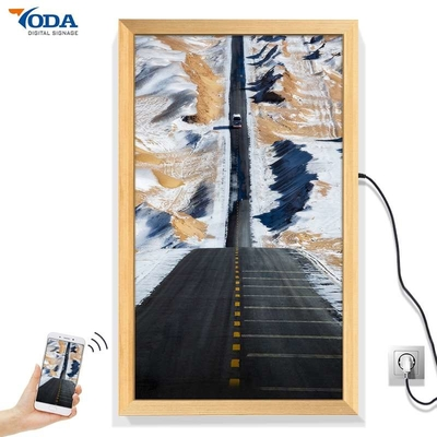 China Realistic Texture Smart Digital Picture Frame , LCD Smart Photo Frame 32 Inch factory