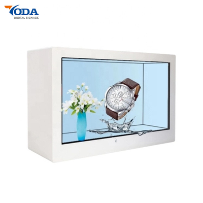 46Inch Transparent LCD Display Exhibition Advertising Display Showcase