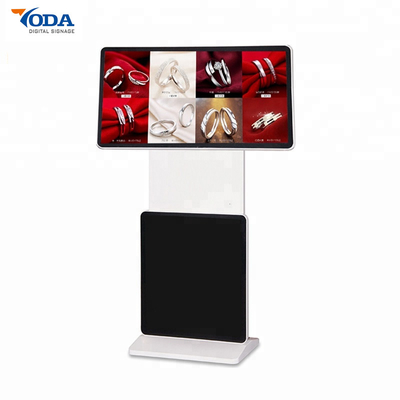 Floor Stand Rotating Touch Screen Monitor 1080P Digital Sigange