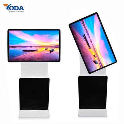 China Premium HD Touch Monitor Rotating Digital Signage Floor Standing Advertising Display factory