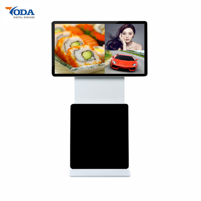 China Rotate Screen Stand Free LCD Advertising Display Capacitive Touch High Sensitive factory
