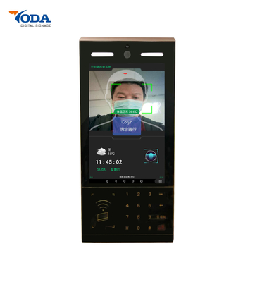 10.1 Inch Multi Function Digital Signage Thermal Human Body Temperature Detection